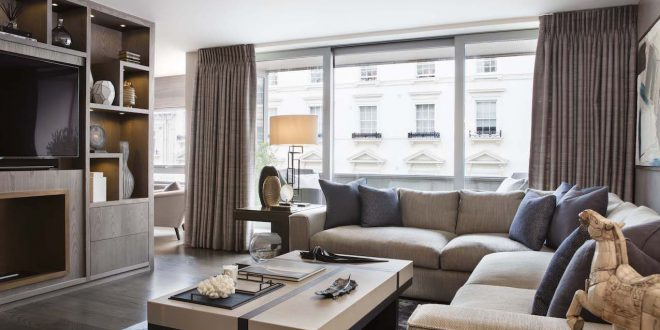 Das renovierte Belgravia Apartment ist ein elegantes Pied-a-Terre